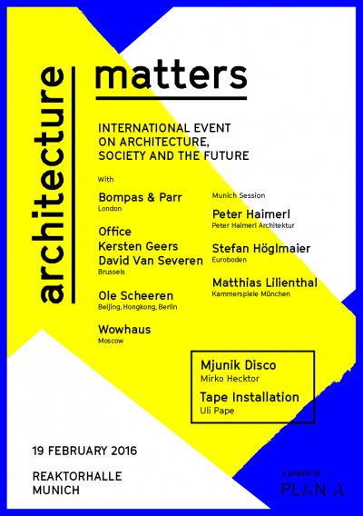 plan A-Architecture Matters-2016